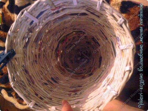 Мастер-класс Поделка изделие Новый год Плетение Ёлочка из газетных трубочек МК Бумага газетная Бусинки Бутылки пластиковые Гипс Клей Кружево Ленты Салфетки Трубочки бумажные фото 35