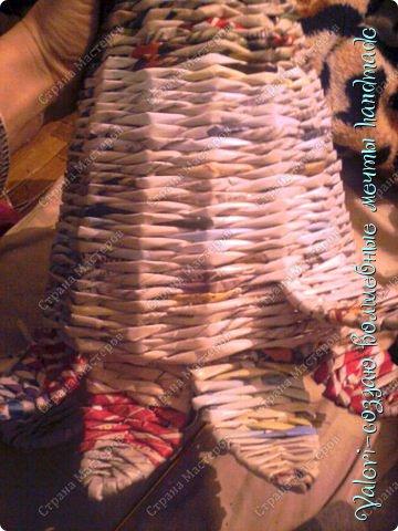 Мастер-класс Поделка изделие Новый год Плетение Ёлочка из газетных трубочек МК Бумага газетная Бусинки Бутылки пластиковые Гипс Клей Кружево Ленты Салфетки Трубочки бумажные фото 36