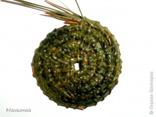 Декор предметов Мастер-класс Украшение Новый год Плетение Колокольчик новогодний Материал природный фото 3