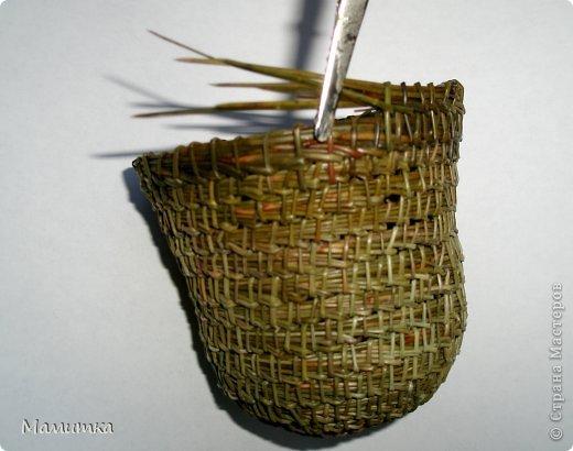 Декор предметов Мастер-класс Украшение Новый год Плетение Колокольчик новогодний Материал природный фото 7