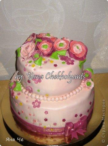 Мои тортики...