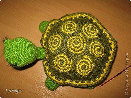Вязание крючком Черепаха