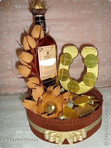 Как оформить бутылку в подарок мужчине своими руками
