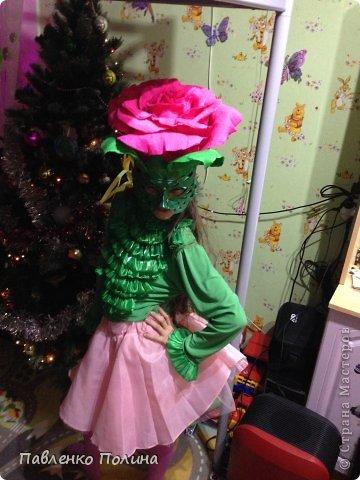 Как сделать костюм для девочки из бумаги