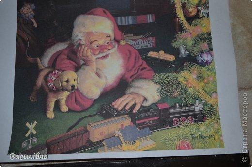 Мастер-класс Новый год Лепка Дедушка Мороз в душе ребенок Тесто соленое фото 2