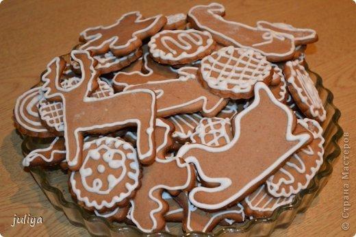 Кулинария Мастер-класс Рождество Рецепт кулинарный Рождественские козули и пряничный домик Продукты пищевые фото 1