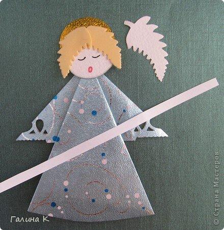 Ангелы поделка для детей