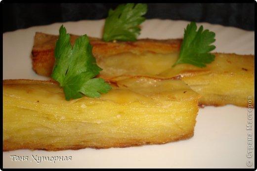 Кулинария Мастер-класс Рецепт кулинарный Слоённая картошка Продукты пищевые фото 11