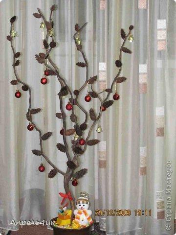 Выкладываю с опозданием свое новогоднее дерево. фото 2