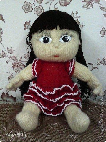 Куклы Вязание спицами Пупс