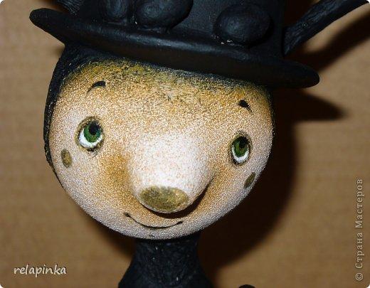 Пасхальный кролик (поэтапные фоты росписи)  фото 15