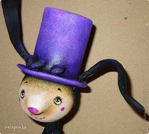 Пасхальный кролик (поэтапные фоты росписи)  фото 22