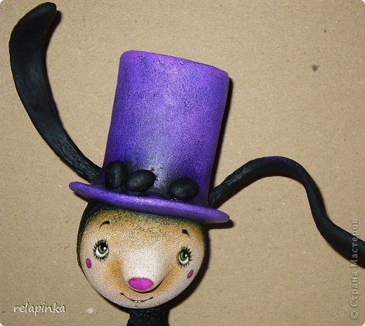 Пасхальный кролик (поэтапные фоты росписи)  фото 23