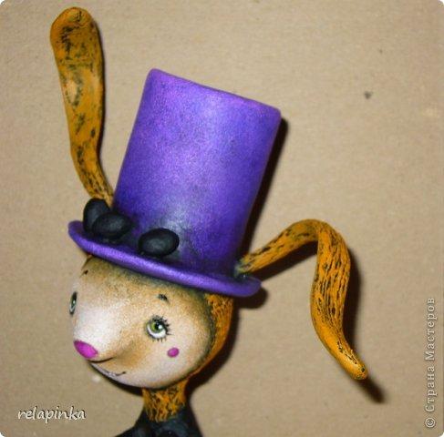 Пасхальный кролик (поэтапные фоты росписи)  фото 24
