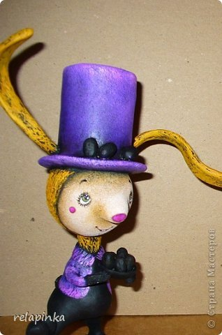 Пасхальный кролик (поэтапные фоты росписи)  фото 26
