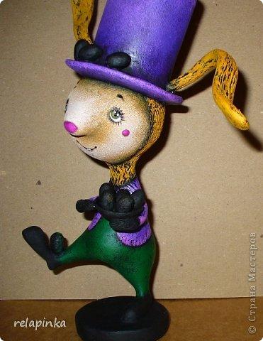 Пасхальный кролик (поэтапные фоты росписи)  фото 27