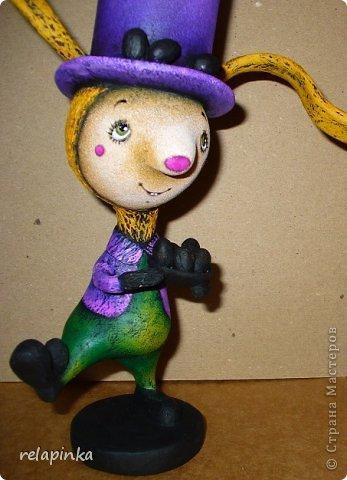 Пасхальный кролик (поэтапные фоты росписи)  фото 28
