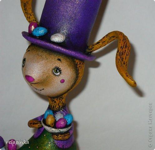 Пасхальный кролик (поэтапные фоты росписи)  фото 52