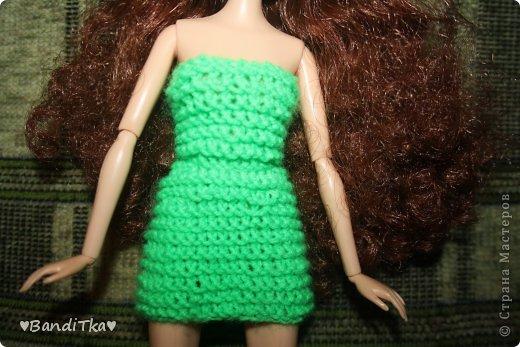 Всем привет! Связалось вот такое зелёное платье. Понравится нет решать вам. фото 2