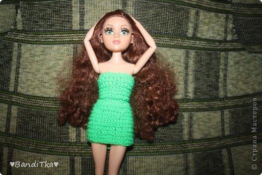 Всем привет! Связалось вот такое зелёное платье. Понравится нет решать вам. фото 7