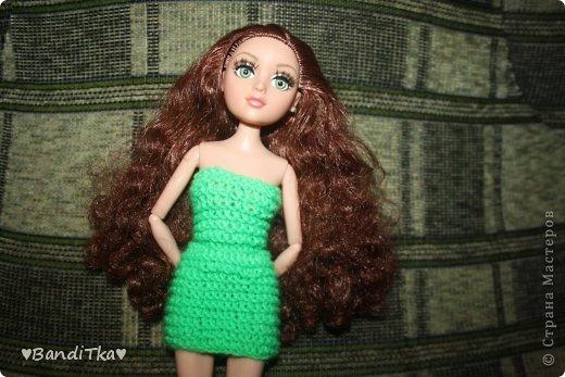 Всем привет! Связалось вот такое зелёное платье. Понравится нет решать вам. фото 8