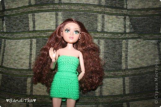 Всем привет! Связалось вот такое зелёное платье. Понравится нет решать вам. фото 12