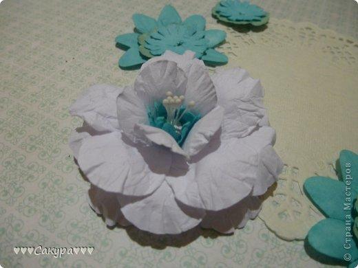 Мастер-класс Скрапбукинг 8 марта Пышный цветок для скрапа МК Бумага фото 1