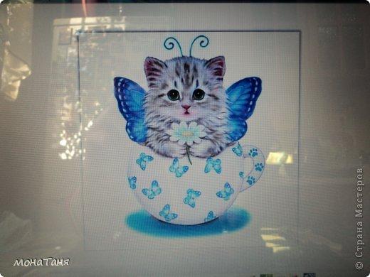 Здравствуйте!!! Предлагаю слепить котёнка - бабочку, по картинке для вышивки, которую нашла в инете. Я леплю из холодного фарфора. Холодный фарфор делаю по рецепту : 1 ст. л. соды, 1ст. л. клея для обоев, 1 ст. л. воды, перемешать, добавить немного масла Джонсон бейби или вазелинового масла и пару капель моющего для посуды. В клее должен быть модифицированный крахмал (читаем на пачке). фото 4