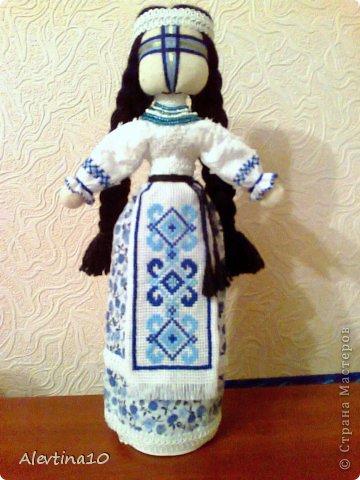Куклы Вышивка крестом Шитьё