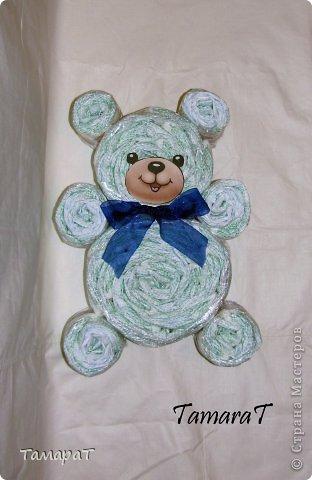 Медведь из памперсов своими руками 83