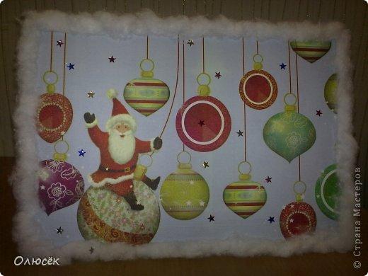 Знакомьтесь! Это наша новогодняя поделка в садик - снеговичок Вася! Доченька почему-то захотела именно так назвать :)  фото 8