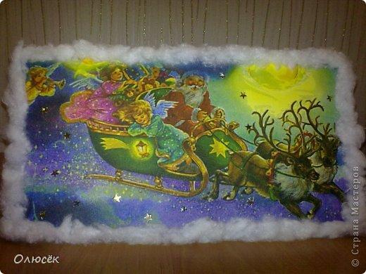 Знакомьтесь! Это наша новогодняя поделка в садик - снеговичок Вася! Доченька почему-то захотела именно так назвать :)  фото 7