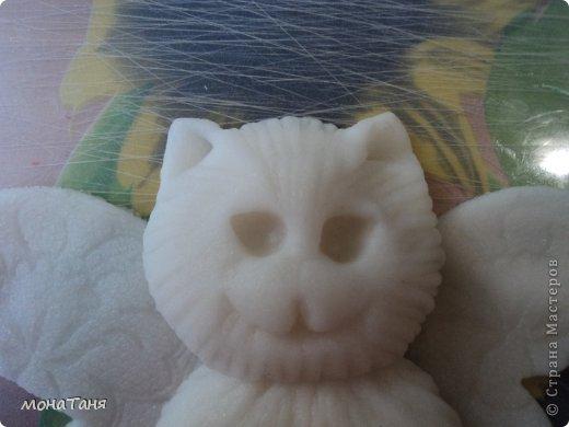 Здравствуйте!!! Предлагаю слепить котёнка - бабочку, по картинке для вышивки, которую нашла в инете. Я леплю из холодного фарфора. Холодный фарфор делаю по рецепту : 1 ст. л. соды, 1ст. л. клея для обоев, 1 ст. л. воды, перемешать, добавить немного масла Джонсон бейби или вазелинового масла и пару капель моющего для посуды. В клее должен быть модифицированный крахмал (читаем на пачке). фото 19