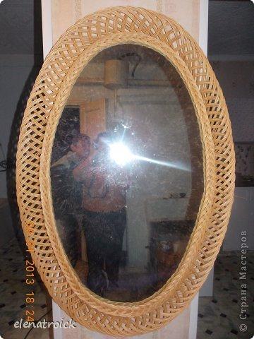 ажурно-овальное зеркало размером 120см на 60 см фото 1