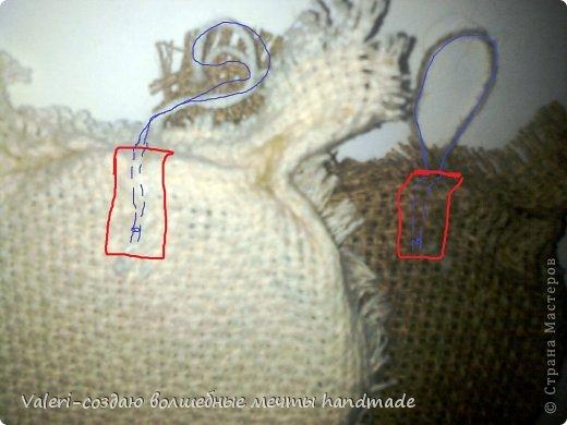 Мастер-класс Поделка изделие Аппликация Ассамбляж Совята-крышечки для запаривания кофе МК Клей Кофе Краска Ленты Мешковина Нитки Пуговицы фото 9