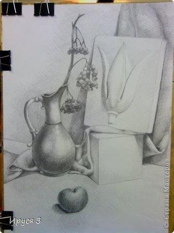 Работу выполнил Максим карандашом в художественной школе -)))