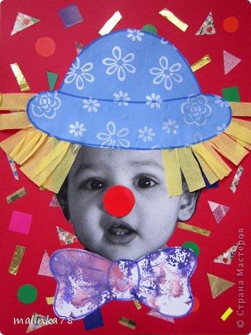 Вот таких клоунов и клоунес мы сделали из наших милых малюток. На этой неделе планируется выезд детей в цирк и на эту тему были сделаны наши работы. Делать их просто, а выглядит работа интересно! фото 5