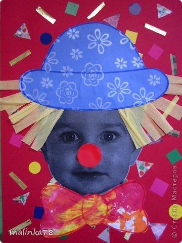 Вот таких клоунов и клоунес мы сделали из наших милых малюток. На этой неделе планируется выезд детей в цирк и на эту тему были сделаны наши работы. Делать их просто, а выглядит работа интересно! фото 6