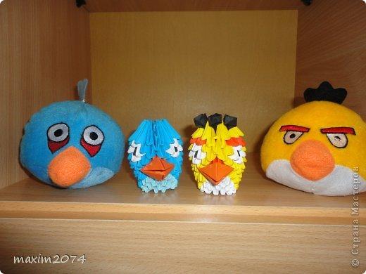 модульное angry birds из