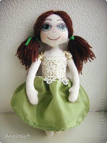 Куколка родилась в порыве вдохновения, за два вечера. Имя появилось не случайно, а из-за удивительного сходства с одной хорошей девочкой. фото 1