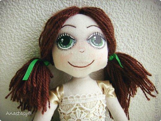 Куколка родилась в порыве вдохновения, за два вечера. Имя появилось не случайно, а из-за удивительного сходства с одной хорошей девочкой. фото 2
