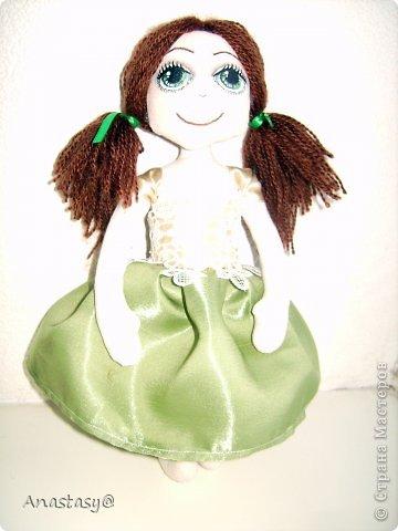 Куколка родилась в порыве вдохновения, за два вечера. Имя появилось не случайно, а из-за удивительного сходства с одной хорошей девочкой. фото 3
