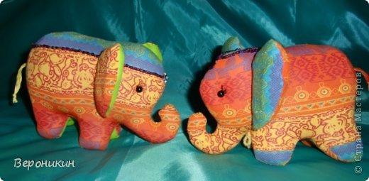 Радужные слоники для сына и дочки. Дочке - с ресничками, а сын попросил без ресниц. фото 2