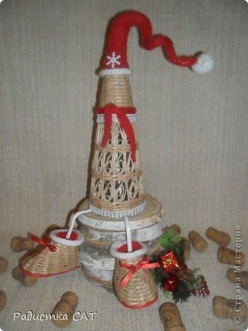 На новогодних каникулах сплелась романтичная шкатулочка.  фото 9