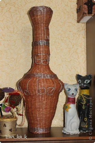 Здравствуйте, жители замечательной Страны!  Первый мой пост в 2014 году… И какой-то не зимний…   Так уж вышло, что сегодня я вновь с вазами – народ решил загодя готовиться к весне, к цветам, к обновлению интерьера. Итог – две вазы…  фото 10