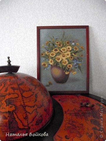 Картина панно рисунок Мастер-класс Скрапбукинг День семьи Ассамбляж Мк Родовое дерево Бумага Картон Клей Краска фото 2