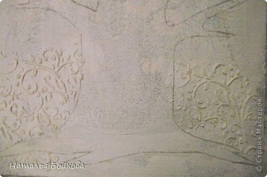 Картина панно рисунок Мастер-класс Скрапбукинг День семьи Ассамбляж Мк Родовое дерево Бумага Картон Клей Краска фото 10