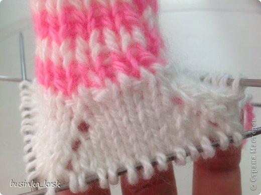 Игрушка Мастер-класс Вязание спицами Вязаный свитер для текстильной игрушки Пряжа фото 8