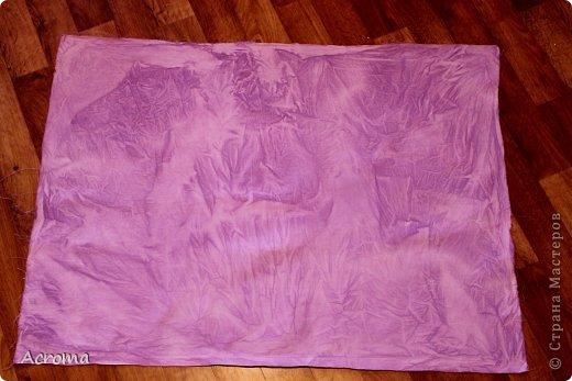 Мастер-класс Поделка изделие Картонаж Красим ткань и делаем из нее шкатулочки Картон Ленты Ткань фото 9