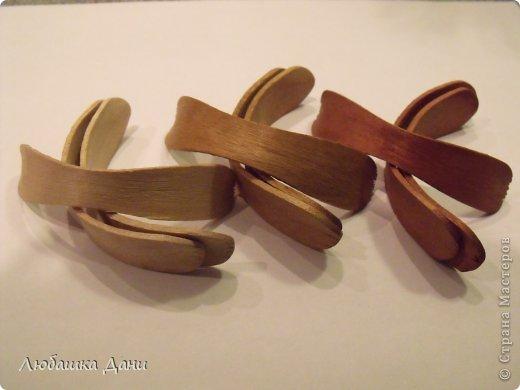 Мастер-класс Поделка изделие Моделирование конструирование Деревянные цветы МК Материал бросовый фото 6